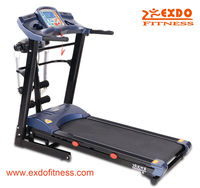 Folding Moving Music Deluxe Home Mini Electric Treadmill