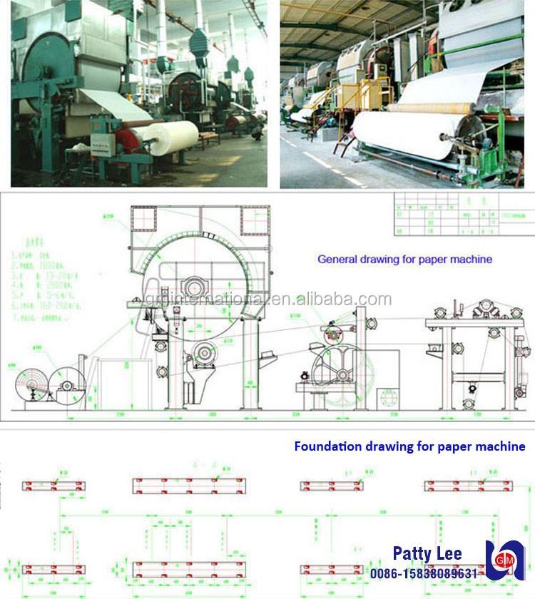 Новые технологии переработки отходов бумаги туалетной бумаги оборудование сделано в Китае