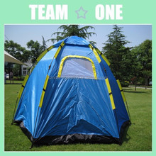 5 Person Dome Tent Hexagon Camping Hunting Tactical Survival Preppers