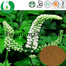 Health herb extract/GMP factory supply black cohosh herb powder/Black Cohosh P.E BLC-Tritepene2.5%,8% HPLC