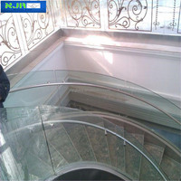 15mm Curved Glass, float curved glass