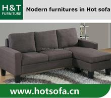 New Arrival Modern Living Room Furniture Small Fabric Sofa Set