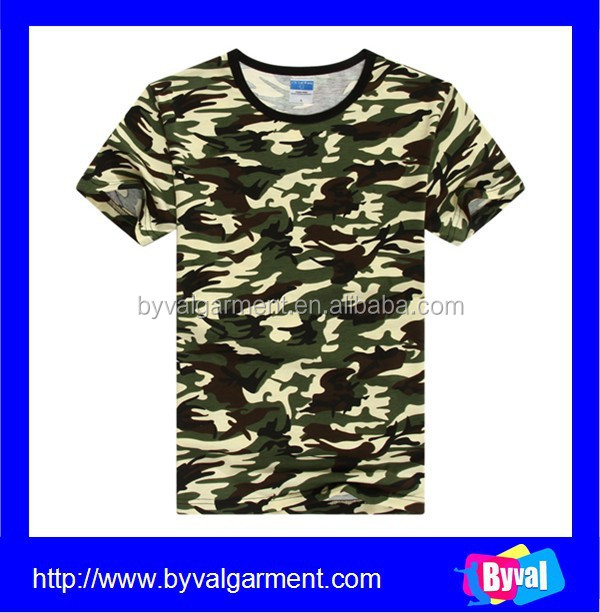 wholesale polyester cotton digital printing t shirt