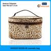 Leopard printed single handle Women travel beauty bags, beauty bag, beauty bag for travel