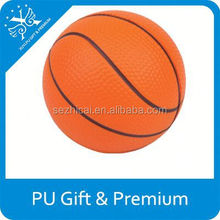 top sale imprinted toys pu basket ball