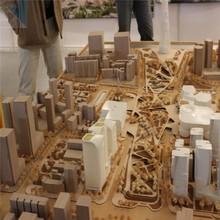 Wooden craft for university & building competition 3d bidding models