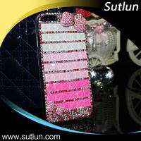 Luxury bling rhinestone diamond phone case for Samsung Galaxy s4 s5 note 3 4 A3009 G7200 I9500 diamond cover