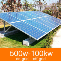 Home 5KW solar systems complete
