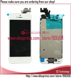 LCD for iPhone 5 5G with Touch Screen Digitizer Assembly Full Set white