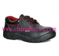 Cow Leather Embossed Safety Labor Footwear