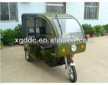 Electric three wheel motor bike passenger