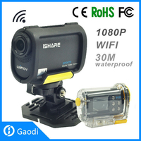 Gaodi Underwater Sport Camera Cam with hd 1080p with WiFi Voice Recorder Functions Video Cam