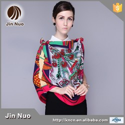 JINNUO 2015 New arrival Women Scarf hot sale square fashion shawls for ladies