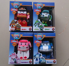 Russian version gift box police robocar toys
