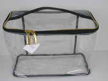 Promotional Simple PVC Travel Train Case Cosmetic Pouch