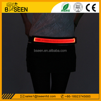 2015 best selling products led rechargeable colored waistband elastic