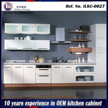 Hotel beech wood kitchen cabinet modular kitchen designs for small kitchen