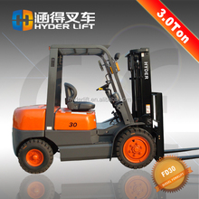 used container forklift truck 3t diesel forklift cars for sale Automatic