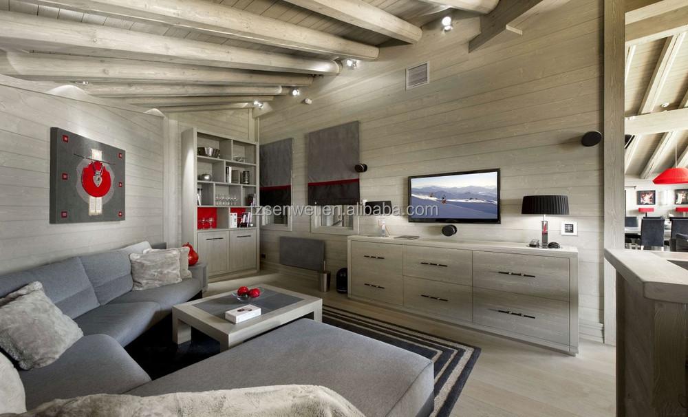 maison en bois pour le avec raisin treillis deux histoires en bois villa maisons pr fabriqu es. Black Bedroom Furniture Sets. Home Design Ideas