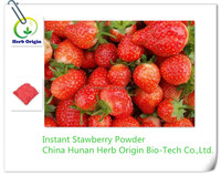 ISO Manufacturer Wholesale Best Price 100% natural organic freeze dried strawberry banana fruit juice powder