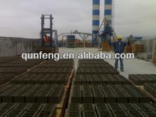 manual concrete hollow block making machine line