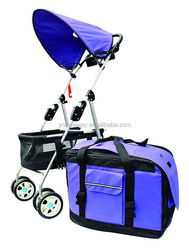 alibaba china supplier large pet carrier with wheels
