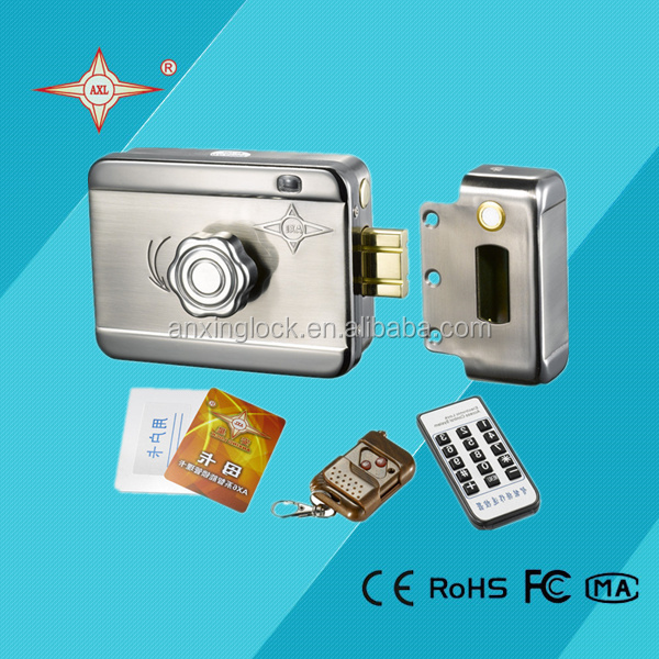 Intelligent Electric Lock With Remote Control For Main