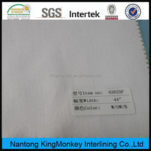 2014 hot sale cotton fusible woven interlining