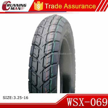 High Speed Motorcycle Tire 3.25-16 3.50-16