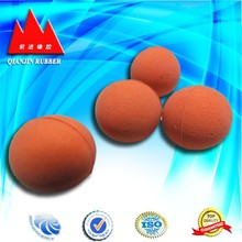Silicone solid rubber ball industrial. ISO9001-2000