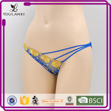 professional lingerie gloden sexy new design micro g string bikinis