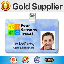 Free sample! Plastic employee Photo ID Cards