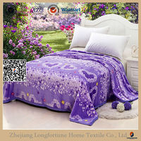 made in china 100 acrylic blanket