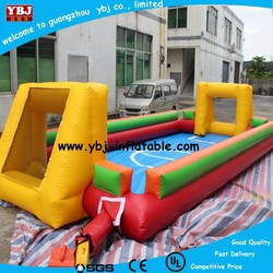 inflatable football field / inflatable football pitch / inflatable soccer field