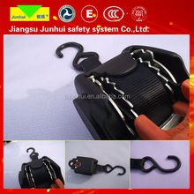 Nylon life rope with adjuster and snap hook adjustable safety belt