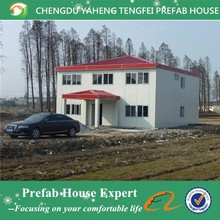 Prefab fast build low cost two story house