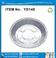round aluminium foil baking pie pan mini cheese cake pan YD148
