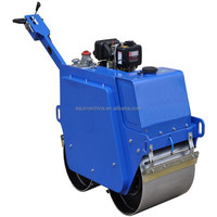 Hot Sale Handle Road Roller Compactor with honda gx290 used to compact soil,asphalt,gravel