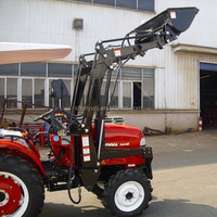 Small garden tractor with front loader JINMA 244E tractor