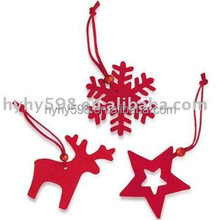 15072714 China manufacturer cute xmas hanging felt ornament knitted 2015 christmas tree decoration