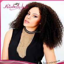 Kimberlyhair Curly Free Style For Black Women 8 Inch Hand Made Wig Top Grade Brazilian Virgin Hair Full Lace Human Hair Wigs