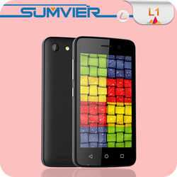Plastic Android 4.4 2.0MP 0.3MP Smart Phone made in China
