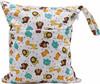 Ohbabyka two pocket waterproof baby cloth diaper wetbag
