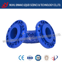 Competitive price GGG50/40 90 degree loose flange elbow