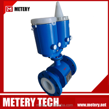 Battery operated electronic flow meter oil