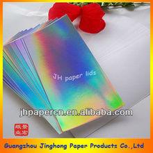 153g double copper fresh laser paper