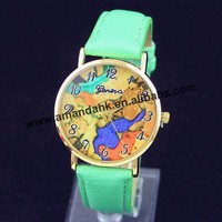 100pcs/lot wholesale price new watches, Geneva 2265Messy palette belt table