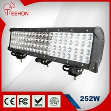 Quad Row C REE led atv light bar waterproof, 4x4 off road led light bar 252W
