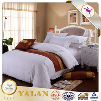 Wholesale cheap luxury hotel bed linen,material softness and comfortable,washable