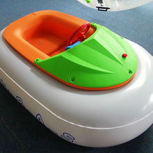 Summer Playing Inflatable Bumper Boat with Swimming Pool, PVC Inflatable Kids Boat for Sale